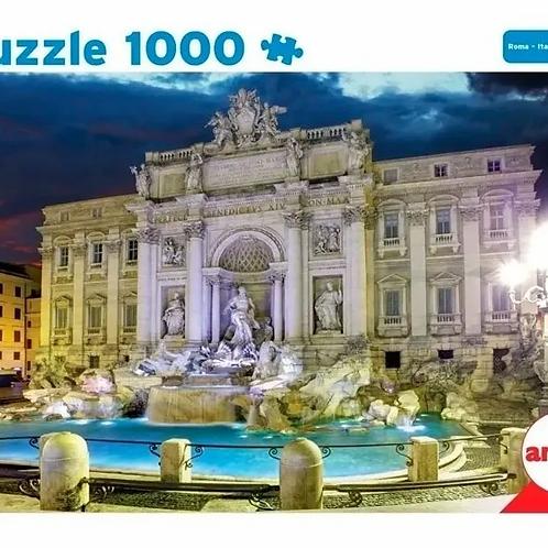 Rompecabezas Puzzle 1000 Piezas Roma Italia