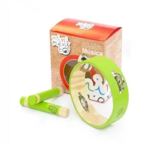 Instrumentos Musicales Infantiles Pandereta+claves Jardines