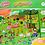 Thumbnail: Puzzle De Piso 28 pz Rompecabezas 49x69 Cm Reversible