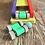 Thumbnail: Tobogán Bajada Gigante Madera Didáctico 48x55cm Coordinación