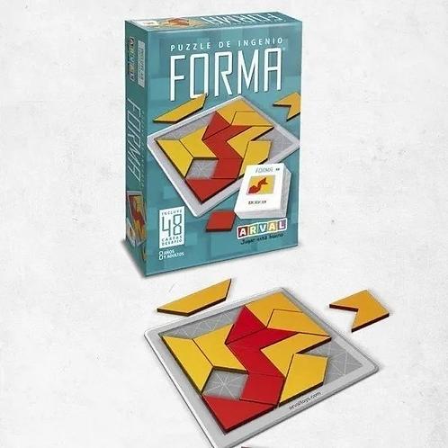 uego Rompecabezas - Puzzle De Ingenio Forma - Didáctico