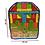 Thumbnail: Bloques Madera Didácticos Letras Constucción Motricidad Fina