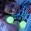 Thumbnail: Lámpara Bola Luz Led Cambia de Color. Pilas Inclui