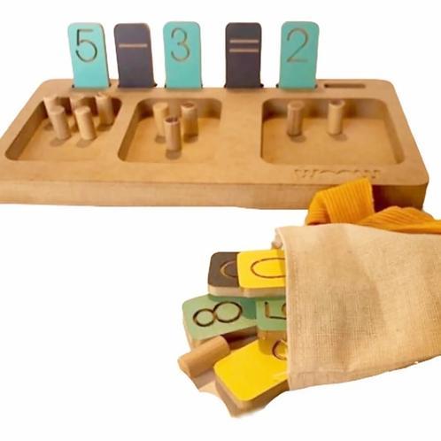 Tabla Ideal Para Las Primeras Cuentas Didáctica Montessori