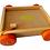 Thumbnail: Carro Carrito De Arrastre En Madera Con Cubos Motricidad