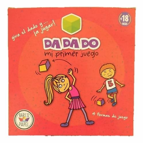 Primer Juego Cubo De Tela Cartas A Partir De 2 Años Da Da Do