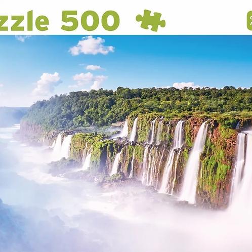 Rompecabezas Puzzle 500 Pzas Cataratas Del Iguazu Argentina