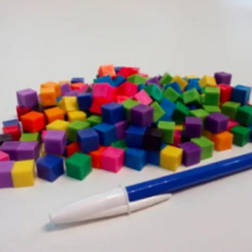 cubos Centimetricos Iniciación Matemática Motricidad Fina
