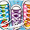 Thumbnail: Zapato Para aprender A Atar Cordones Motricidad Fina Montessori