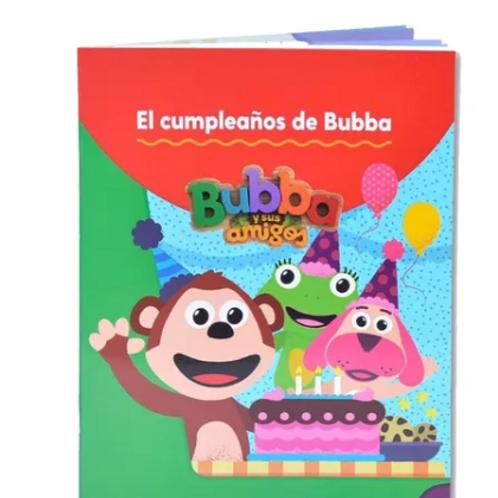 Libro Para Colorear El Cumpleaños De Bubba