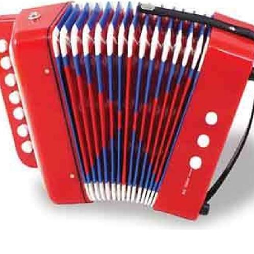 Acordeón Instrumento Musical Niños Teclas Chico
