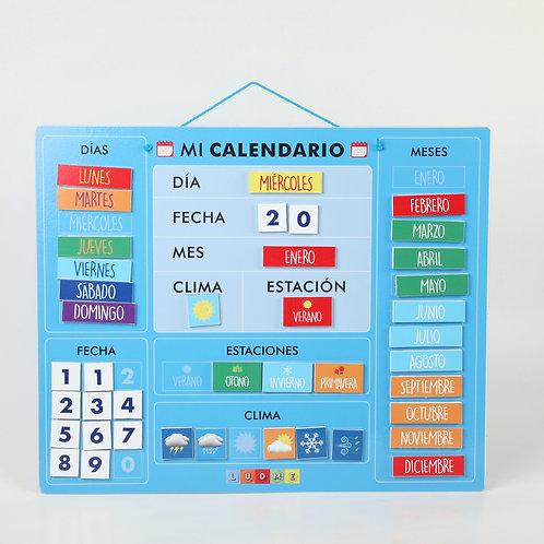 Calendario Imantado Agenda Visual Tea P/ Casa Escuela Consul