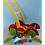 Thumbnail: Carro Carrito Caminador Madera Bebes Caminador Andador
