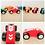 Thumbnail: Auto Autito De Carrera Madera Niños Souvenir Regalos Pistas