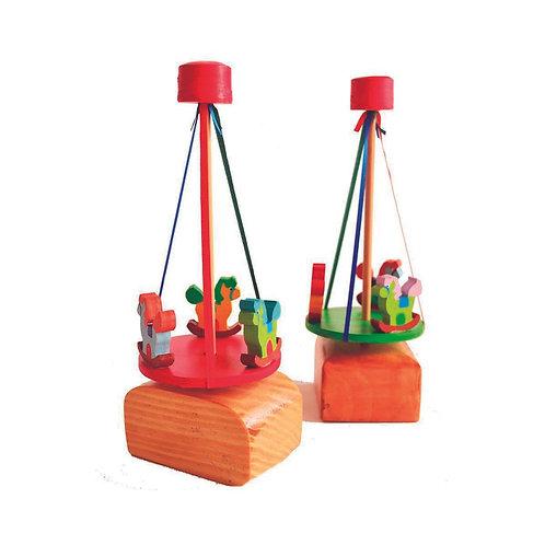 Calesita En Madera Waldorf Montessori