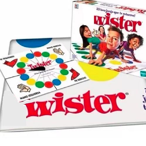Juego Clasico Twister El Juego Que Te Retuerce