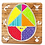 Thumbnail: Rompecabezas Tangram Huevo 9 Piezas Para Hacer Formas Madera