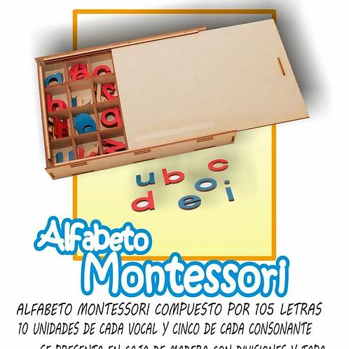 Letras Abecedario Móvil Montessori Imprenta Minúsculas
