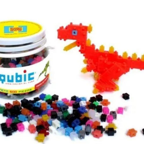 Qubic Cubos Bloques Encastre Motricidad Fina Construcción