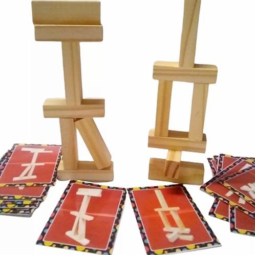 Tablas Equilibristas Construccion + Cartas Desafios