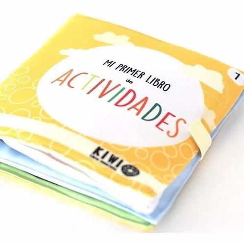 Mi Primer Libro De Actividades En Tela Didáctico Estimulación