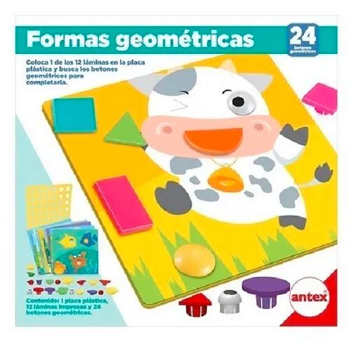 Formas Geométricas Juego Didáctico 12 laminas Correspondencia