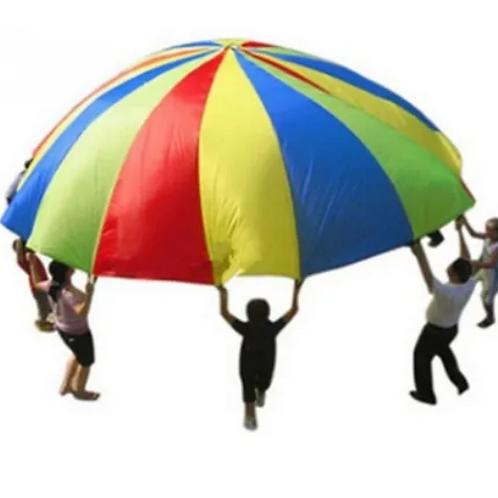 Paracaídas Juego De Psicomotricidad Estimulación Reforzado