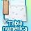 Thumbnail: Tabla Numérica De Madera Montessori El Castillo De Números