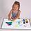 Thumbnail: 40 Azulejos Cuadrados Translucidos Mesa Lumínica Sensorial