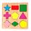 Thumbnail: Encastre Madera Figuras Geométricas Pensam Lógico Motricidad