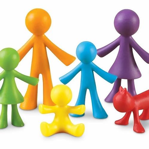 Juego Didáctico Familia Para Contar 12 Pzs Iniciacion Matemá