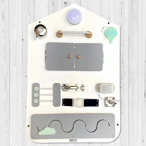 Tablero Sensorial De Pared, Didáctico, Busyboard, Montessori