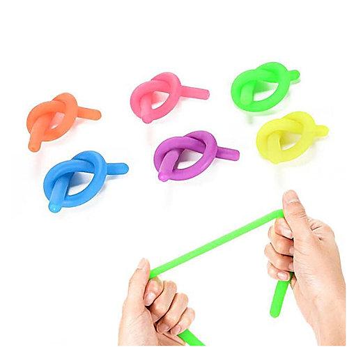 5 Tiras Bandas Cuerdas Sensorial Fidget Tea Ansiedad Concentración