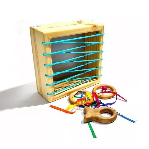 Caja De Exploración Pikler Montessori Sonajeros Motric Fina