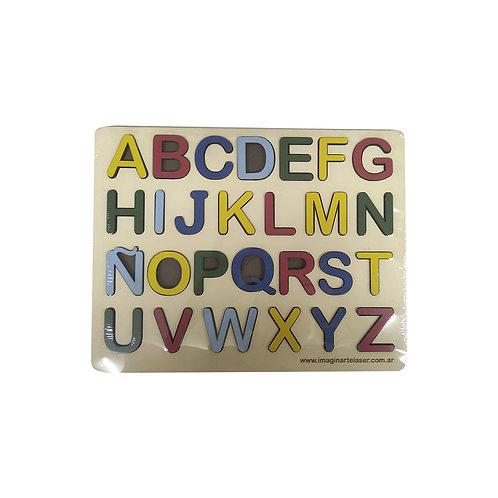 ABC  de encastre de madera