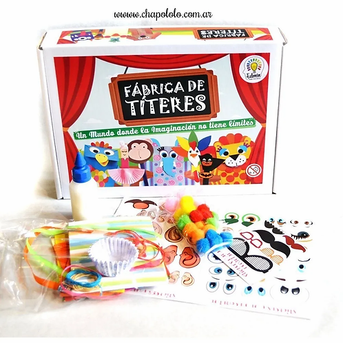 Kit Para Armar Titeres Infantiles Manualidades Arte