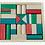 Thumbnail: Bloques Madera Naturales Construcción Didáctico Motricidad