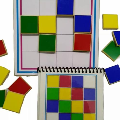 Coloca Color Secuencia Estimulacion Orden Color Motricidad