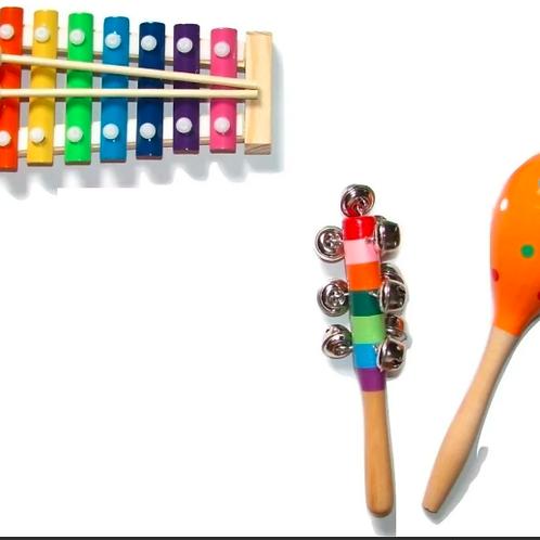 Kit Musical Bebes Didáctico Estimulación