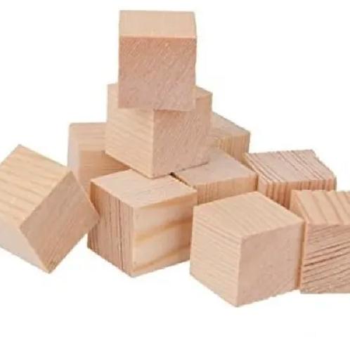 Cubos De Madera Natural Motricidad Montessori Waldorf