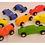 Thumbnail: Auto De Madera Artesanal 7 Cm