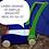 Thumbnail: Carro Carrito Caminador De Empuje Madera Estimulación