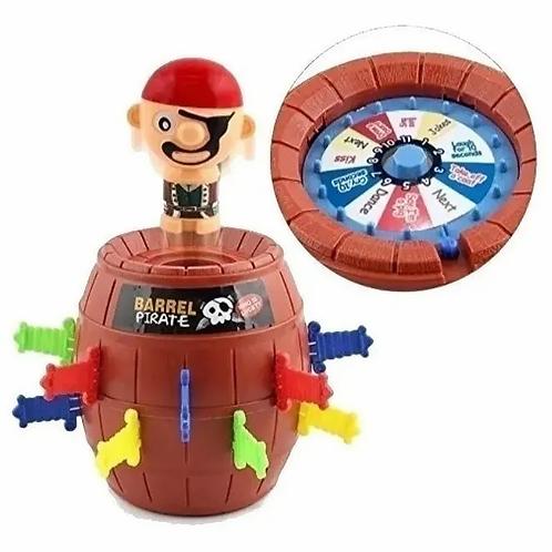 Barril Pirata Saltarin-juego De Mesa Motricidad Fina Didáctico