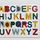 Thumbnail: Encastre Madera Didáctico Alfabeto Abecedario 8cm