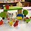 Thumbnail: Animalitos De Granja Madera Didactico Montessori Dramatizac