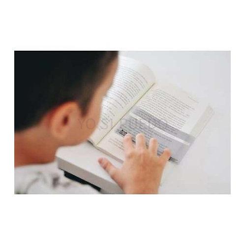 regla De Lectura Ayuda A Ver,hacer Foco Y Recordar Lo Q Leen