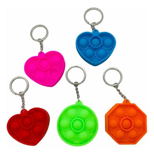 Llavero Popit Fidget Toy Sensorial Ansiedad