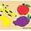 Thumbnail: Encastre De Vocales Madera Infantil Estimulación O De Frutas