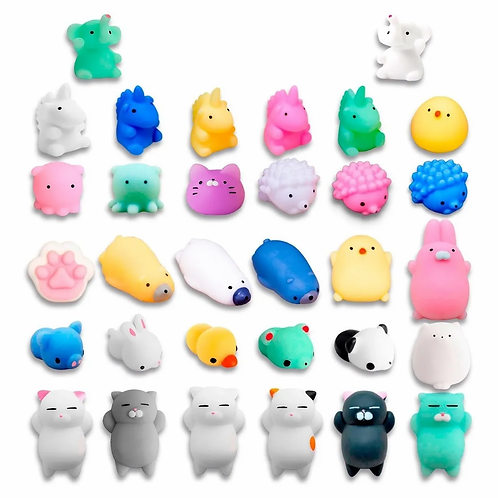 Squishy Animalitos Mini Anti Stress Fidget Calma La Ansiedad