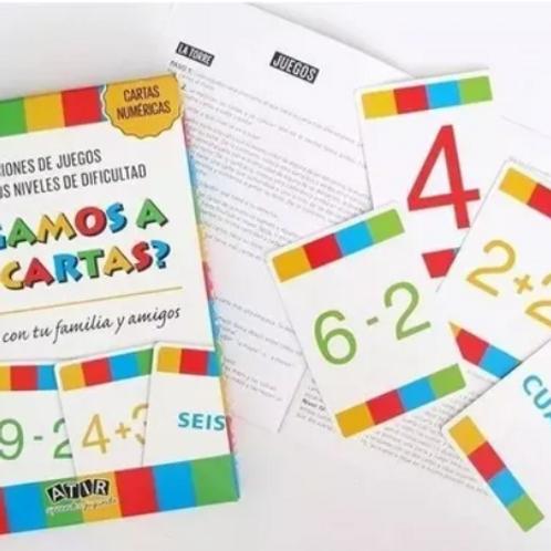 Juegos De Cartas Con Números Introducción A Las Matemáticas